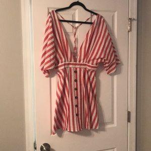 Open back SheIn dress